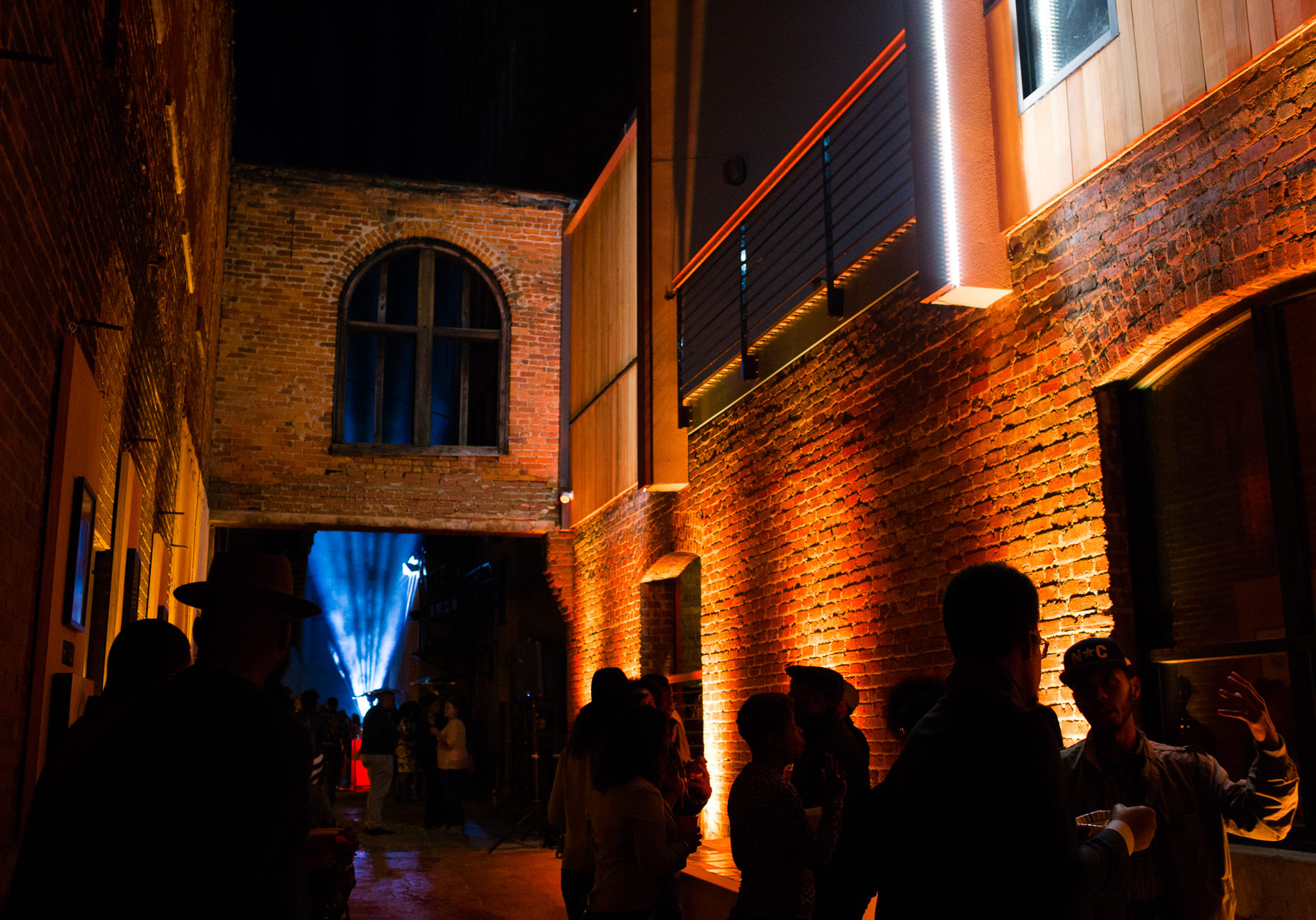 #Back Alley, the Black Wall Street cultural exhibition and afterparty.